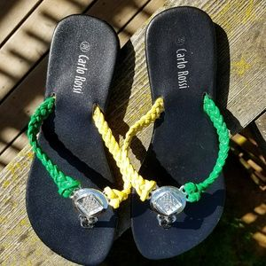 💥2 FOR $7💥Flat Flip Flops from Jamaica